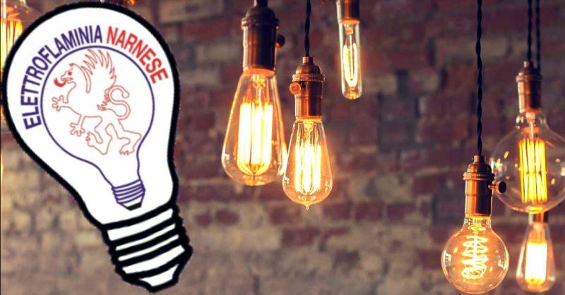 offerta vendita accessori per illuminazione - occasione acquisto lampade da esterno Narni Terni