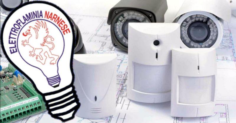 offerta vendita sistemi di allarme Narni Terni - occasione negozio di elettronica Narni Terni