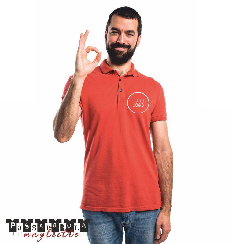 PASSAPAROLA MAGLIETTE polo personalizzate di qualita - promozione stampa magliette logo