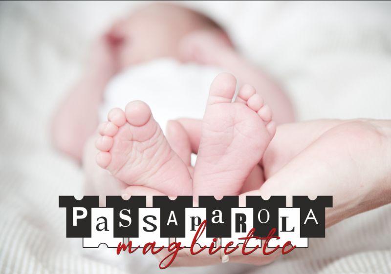 PASSAPAROLA MAGLIETTE articoli regalo personalizzati - promozione set nascita con nome
