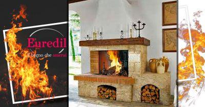 offerta vendita camino modello orvieto della palazzetti cagliari occasione caminetto in pietra cagliari