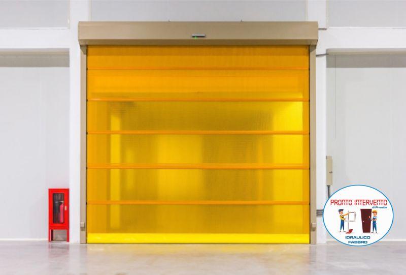 PRONTO INTERVENTO PRESTIA offerta intervento porte garage - promozione sblocco basculante box