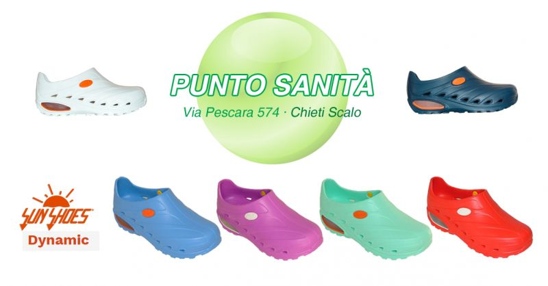 Offerta Calzature Sanitarie Sunshoes Dynamic Chieti - Occasione Calzature Da Lavoro Sun Shoes Dynamic Chieti