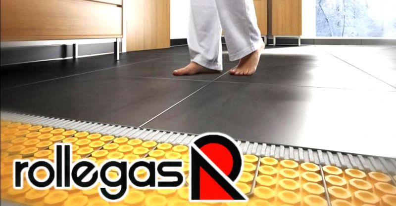 ROLLEGAS - offerta installazione di impianti di riscaldamento a pavimento Montegrotto Padova