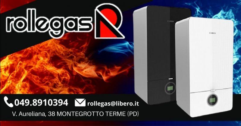 Offerta vendita installazione caldaie Bosch - Occasione installatore caldaia Bosch Padova e provincia
