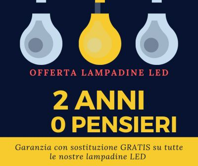 offerta lampadine a led trani promozione lampadina globo trani
