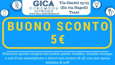 gica elettronica offerta materiale elettrico trani coupon illuminotecnica