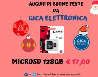 offerta speciale micro sd 128gb classe 10 kingston a trani
