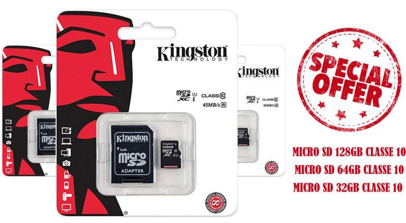 Offerta micro sd kingston Trani – Promozione micro sd compatibili con smartphone Trani
