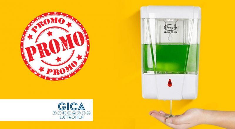 Offerta dispenser automatico igienizzante  – Promozione dispenser igienizzante per mani