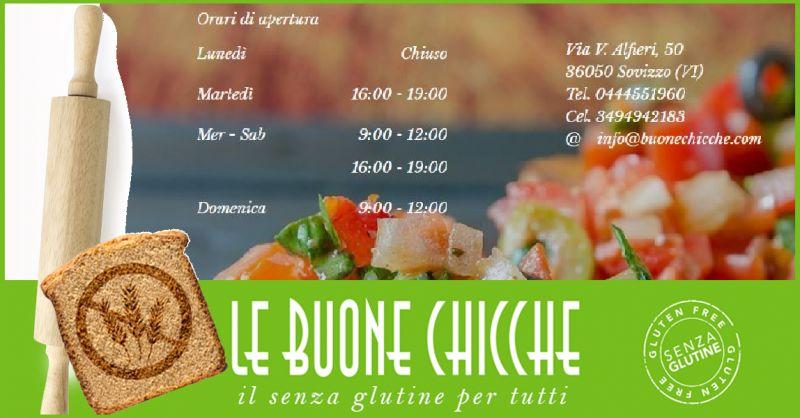 Le Buone Chicche - Trova una gastronomia specializzata senza glutine ed intolleranze alimentari