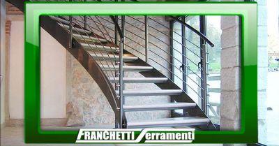 offerta scale a giorno su misura vicenza occasione realizzazione artigianale scale chiocciola