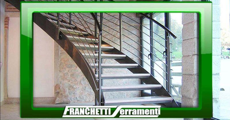 Offerta Scale a giorno su misura Vicenza - Occasione Realizzazione artigianale Scale chiocciola