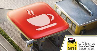 eni station quartu sant elena offerta colazione conveniente pausa caffe stazione di servizio