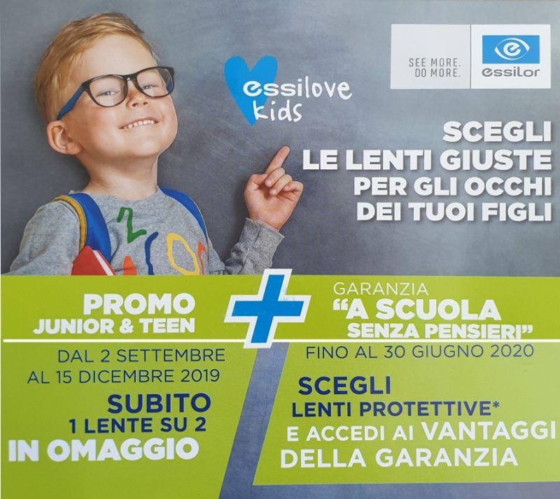 OTTICA INVISTA FASHION offerta occhiali da vista protettivi per bambini adolescenti scuola - occhiali studio