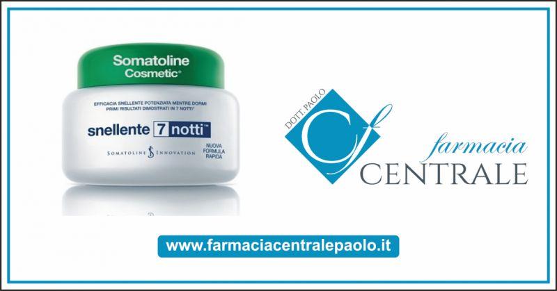 Farmacia Centrale Paolo offerta prodotti snellenti - occasione somatoline in saldo