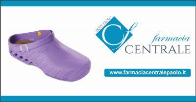 farmacia centrale paolo offerta calzature scontate occasione zoccoli dr scholl per infermieri