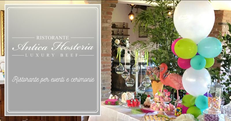 ANTICA HOSTERIA offerta ristorante per cerimonie roma - occasione eventi ricevimento roma