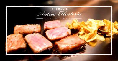 offerta ristorante italiano con carne giapponese ardea occasione osteria carne kobe lanuvio