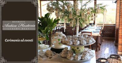 offerta ristoranti per organizzazione eventi anzio occasione ricevimento cerimonie ardea