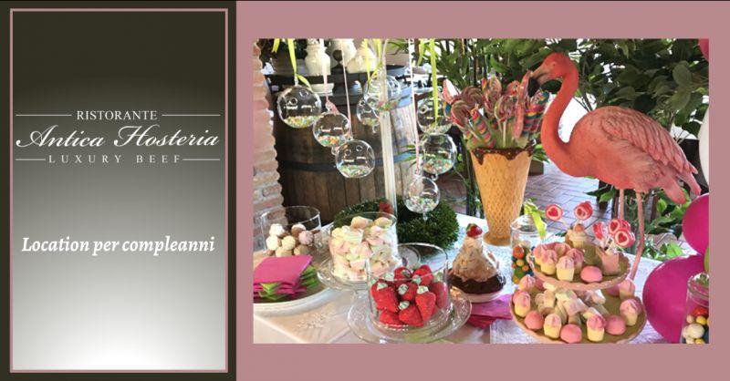 Offerta ristorante per compleanno roma - occasione location per festa di compleanno anzio