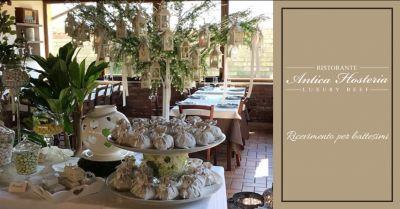 antica hosteria offerta ristorante per battesimo roma occasione ricevimento battesimo anzio