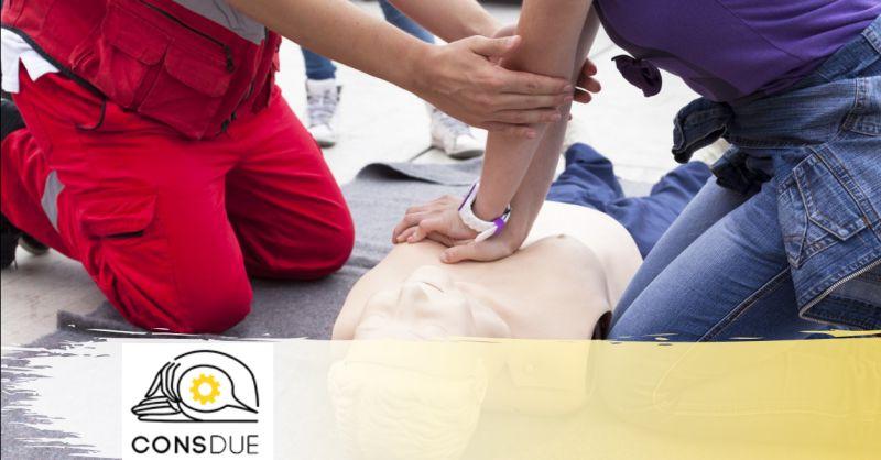 CONSDUE - offerta corso d'aggiornamento per addetti al primo soccorso San Martino Verona