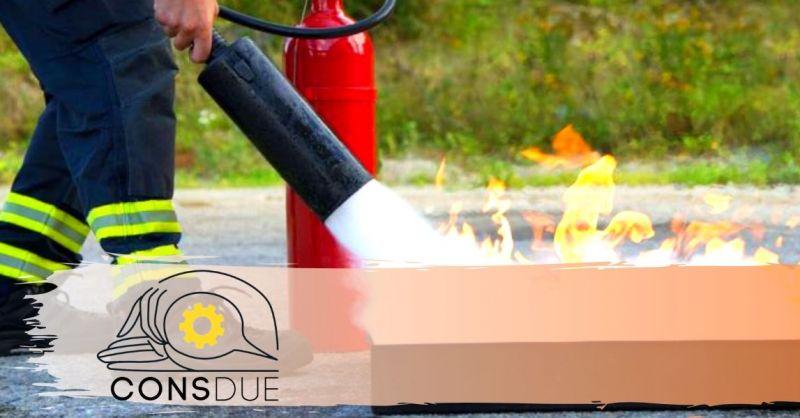 Occasione corsi professionali antincendio - offerta corso aziendale prevenzione incendi Verona