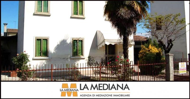 LA MEDIANA - offerta vendita casa singola con terreno di proprietà Carmignano di Brenta Padova