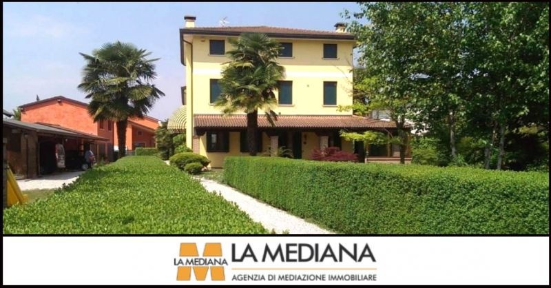 offerta vendita appartamento piano terra con grande giardino Carmignano di Brenta Padova