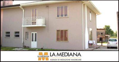 la mediana offerta villa bifamiliare indipendente con terreno in vendita grantorto padova