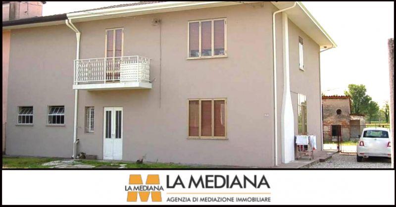 LA MEDIANA - offerta villa bifamiliare indipendente con terreno in vendita Grantorto Padova