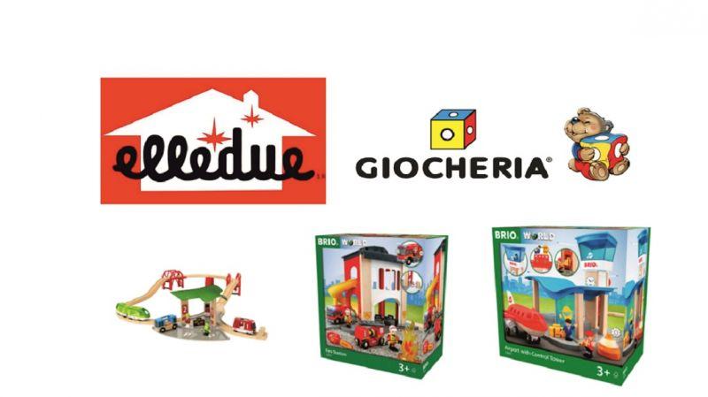 GIOCHI BRIO -  offerta giochi e trenini in legno con accessori