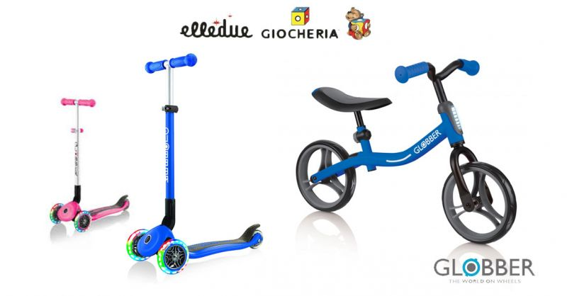 Offerta monopattini e bici equilibrio Globber varese – promozione monopattino Globber
