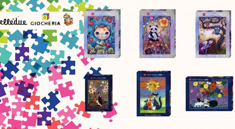 Offerta puzzle per adulti varese – promozione puzzle per adulti Heye varese