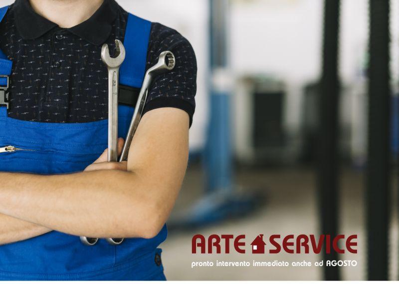 ARTE CASA SERVIZI offerta idraulico emergenze agosto - pronto intervento clima cornaredo