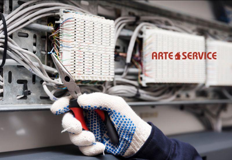 ARTE CASA SERVIZI offerta elettricista pronto intervento rapido - impianto elettrico guasto cornaredo