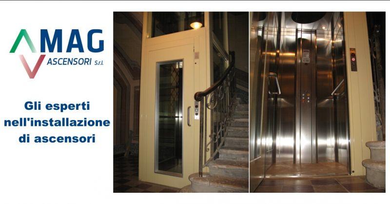 MAG ASCENSORI offerta montaggio ascensori Modena - occasione installazione ascensori Modena