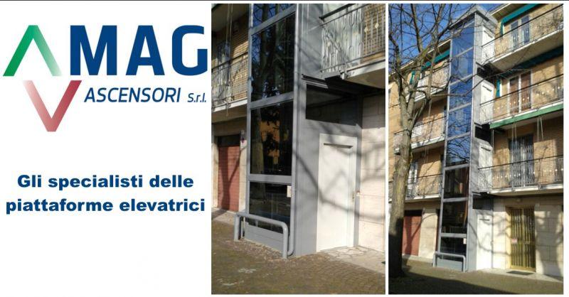 MAG ASCENSORI - offerta piattaforma elevatrice Modena