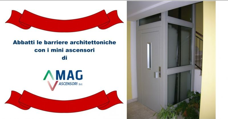 MAG ASCENSORI - offerta mini ascensori Modena