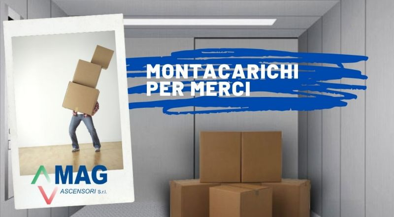Offerta progettazione e installazione montacarichi per merci a Modena – Offerta ascensori per il trasporto di cose per ristorati o magazzini a Modena
