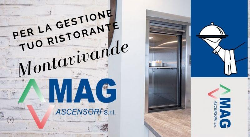 Occasione montavivande per mense e alberghi a Modena – Offerta elevatori per trasporto di cibo a Modena