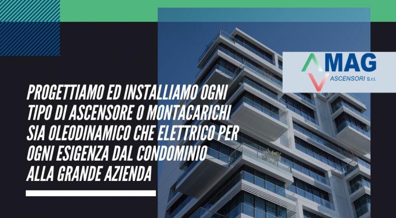 Offerta progettazione e realizzazione ascensori o montacarichi a Modena – vendita progettazione e installazione di ascensori oleodinamico o elettrico a Modena