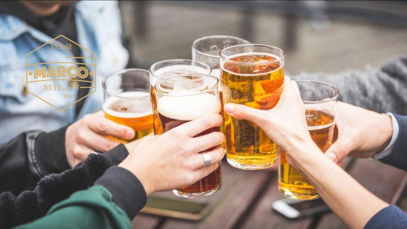 IL BAR DI MARCO offerta birre biologiche - promo birre gluten free aperitivo via tadino