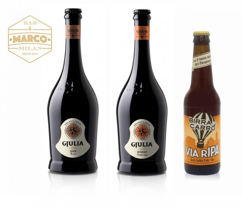 IL BAR DI MARCO offerta birre artigianali - promo birra gjulia birra carru aperitivo via tadino