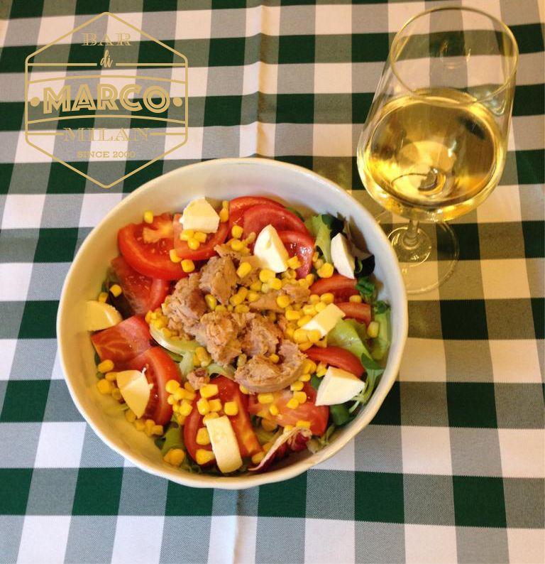 IL BAR DI MARCO offerta pausa pranzo insalatona - promozione pranzare sano fuori casa tadino