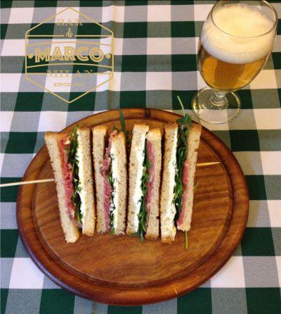 il bar di marco offerta big toast di qualita pausa pranzo veloce economica via tadino