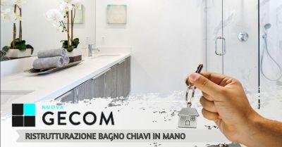 offerta azienda specializzata in ristrutturazione completa bagno con servizio chiavi in mano verona