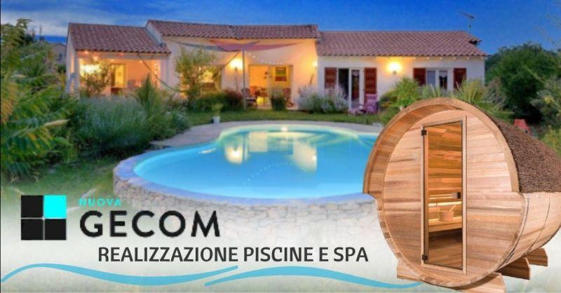 Offerta realizzazione piscine su misura Verona provincia - Occasione progettazione spa bagno turco Verona