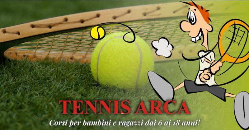 TENNIS ARCA - Offerta tennis per bambini e ragazzi Bergamo